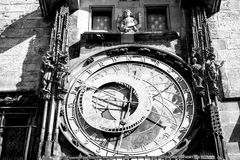 Prague Astronomical clock in the old town of Prague. Czech republic Stock Photography