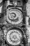 Prague Astronomical Clock in the Old Town of Prague. Czech republic Stock Images