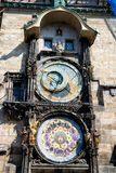 Prague Astronomical Clock in the Old Town of Prague Royalty Free Stock Photos