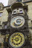 Prague Astronomical Clock. The Prague astronomical clock in Old Town Square Royalty Free Stock Images