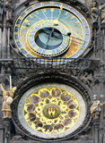 Prague Astronomical Clock. One of the most visited place, Prague astronomical clock. For more on the topic please visit my Prague, Czech Republic collection Stock Photo