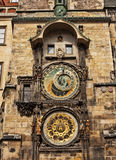 Prague Astronomical Clock. Stock Images