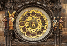 Prague Astronomical Clock. Royalty Free Stock Image