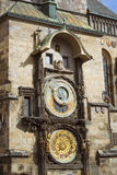 Prague Astronomical Clock (Orloj) Royalty Free Stock Photos