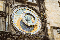 Prague Astronomical Clock (Orloj) Royalty Free Stock Image