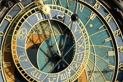 Free Prague Astronomical Clock (Orloj) In Detail In The Old Town Of Prague Stock Photos - 42728133