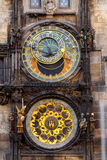 Prague astronomical clock. The Prague astronomical clock, or Prague orloj, is a medieval astronomical clock. Czech Republic, 2014 Stock Photos