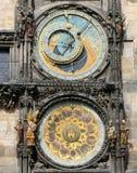 Prague astronomical clock or orloj Royalty Free Stock Photo
