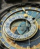Prague astronomical clock or orloj Royalty Free Stock Photos