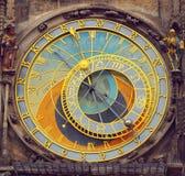 Prague astronomical clock Royalty Free Stock Photos