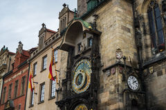 Prague Astronomical Clock Orloj Royalty Free Stock Photos