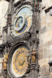 Prague astronomical clock Orloj on Old Town Hall, Prague, Czech Republic Stock Images