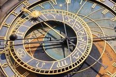 Prague astronomical clock Orloj on Old Town Hall, Prague, Czech Republic Royalty Free Stock Photos