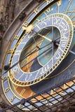 Prague astronomical clock Orloj on Old Town Hall, Prague,Czech Republic Royalty Free Stock Image