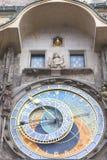 Prague astronomical clock Orloj on Old Town Hall, Prague, Czech Republic Royalty Free Stock Image