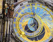 Prague Astronomical Clock (Orloj) in the Old Town of Prague Royalty Free Stock Image