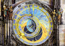 Prague Astronomical Clock (Orloj) in the Old Town of Prague Royalty Free Stock Images
