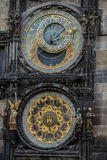 Prague Astronomical Clock Orloj in the Old Town of Prague Royalty Free Stock Photos