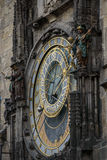 Prague Astronomical Clock Orloj in the Old Town of Prague. Czech Republic Royalty Free Stock Photography