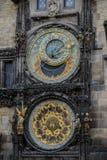 Prague Astronomical Clock Orloj in the Old Town of Prague. Czech Republic Royalty Free Stock Image