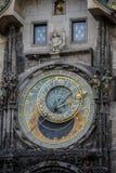 Prague Astronomical Clock Orloj in the Old Town of Prague. Czech Republic Stock Photography