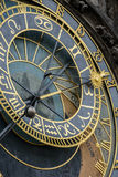 Prague Astronomical Clock Orloj in the Old Town of Prague. Czech Republic Royalty Free Stock Images