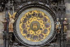 Prague Astronomical Clock Orloj in the Old Town of Prague Royalty Free Stock Images