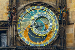 Prague Astronomical Clock (Orloj) in the Old Town Royalty Free Stock Images