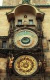 Prague Astronomical Clock. (Orloj) in the Old Town Square (Staromestske namesti), Prague, Czech Republic Royalty Free Stock Photos