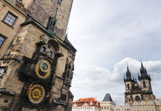 Prague Astronomical Clock, Prague Royalty Free Stock Image