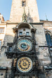 Prague Astronomical Clock at Prague, Czech Republic Royalty Free Stock Images