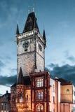Prague Astronomical Clock at Prague, Czech Republic Royalty Free Stock Image