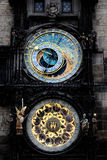 The Prague astronomical clock (Prague orloj), Czech Stock Photos