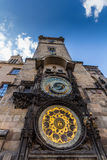 The Prague astronomical clock, or Prague orloj, is a medieval astronomical clock located in Prague, the capital of the Czech Repub Royalty Free Stock Photo