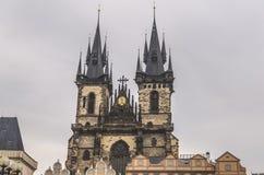 Prague astronomical clock. Sunny day Stock Image