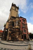 The Prague Astronomical Clock Tower Stock Photos
