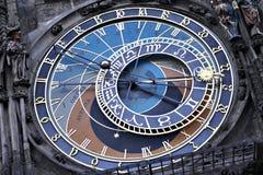 Prague astronomical clock tower Royalty Free Stock Images
