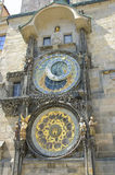 Prague Astronomical Clock Stock Images