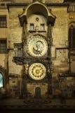 Prague astronomisk klocka Royaltyfri Fotografi