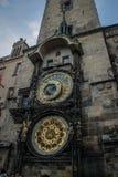 Prague astronomisk klocka eller Prague Orloja royaltyfria foton