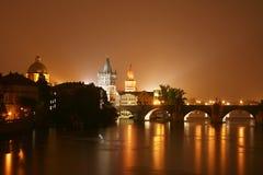 Free Prague At Night Royalty Free Stock Image - 11028886