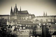 Prague At Sunset Royalty Free Stock Images