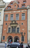 Prague,august 29:Historic Building in Prague Czech Republic Royalty Free Stock Photography