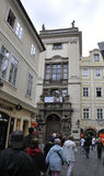 Prague,august 29:Historic Building view in Prague Czech Republic Royalty Free Stock Photos