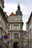 Prague,august 29:Historic Building view in Prague Czech Republic Stock Photography