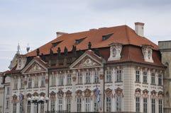 Prague,august 29:Narodny Gallery Facade in Prague Stock Image