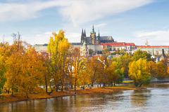 Prague autumn Royalty Free Stock Image