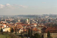 Prague in autumn Stock Photos