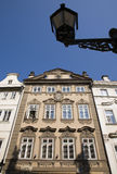 Prague - baroque facade Royalty Free Stock Photography