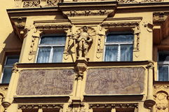 Prague - baroque relief Royalty Free Stock Photography